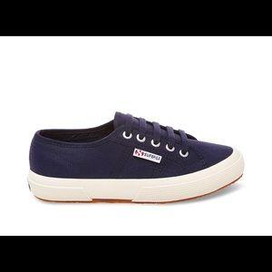 Navy Blue Superga Sneakers
